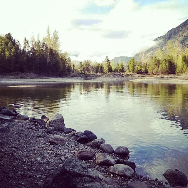A photo I took while on the road last year. This is pretty Castlegar, BC.