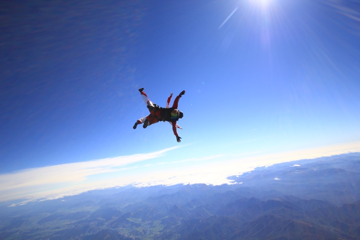 My first skydiveexperience