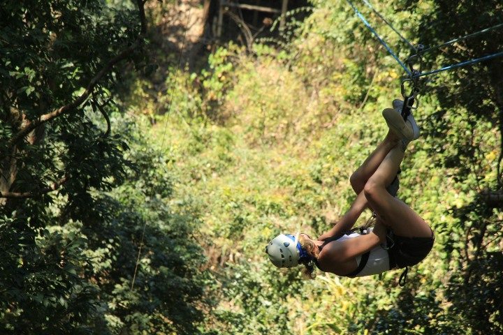 Ziplining through Mexico